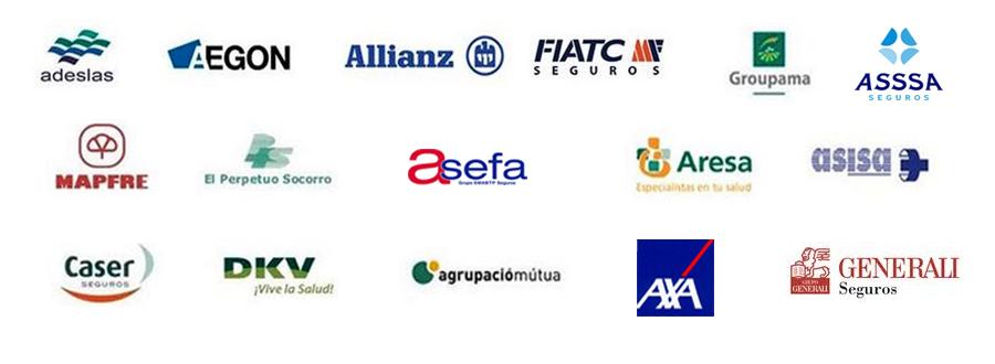 Nous collaborons avec la plus part des compagnies d'assurance nationales et toutes les internationales
