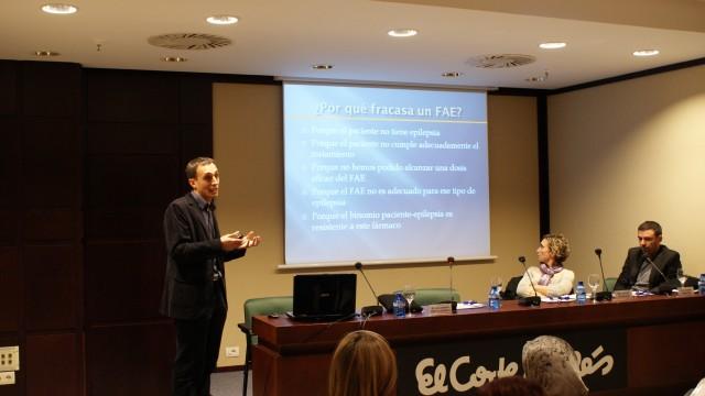 EL Dr. García Escrivá habla del tratamiento farmacológico de la epilepsia