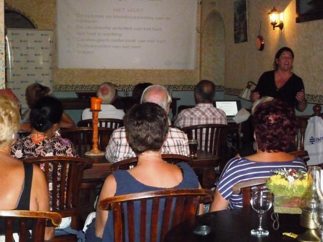 Presentatie Dr. Laura Van Lochem in Hondon de las Nieves
