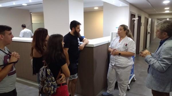Visita del IVAJ a IMED Hospitales