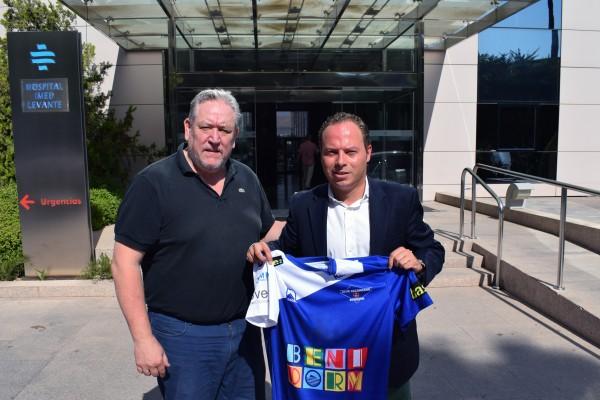 IMED Levante y el Balonmano Benidorm renuevan su acuerdo de colaboración