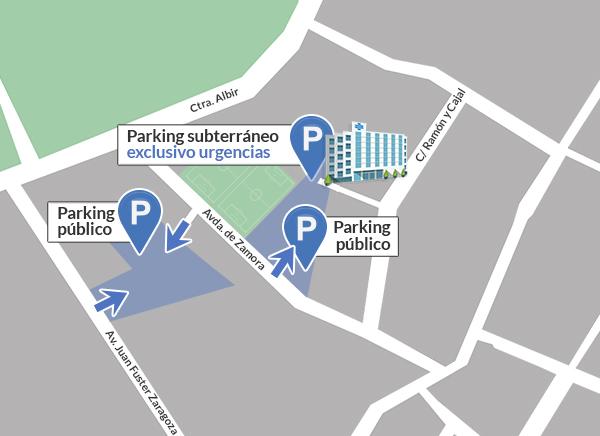 Nueva zona de parking